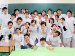 鍼灸師学科 夜間部 3年生~!