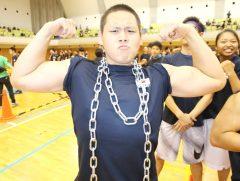 すごい筋肉です!!腕相撲も期待できそうですね。
