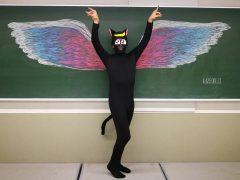 翼をさずける。おっさんでも天使になれる!!