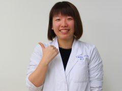 歯科技工士学科3年生 鈴木 愛花さん