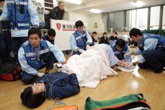 東洋医療専門学校の救急実習