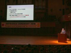 卒業生代表 歯科技工士学科16期生 髙須賀 千紘さん