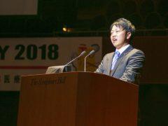 鍼灸師学科・柔道整復師学科代表 山本佑樹さん