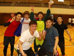 学年の枠を超えて仲良くなれるのが、球技大会の魅力!!