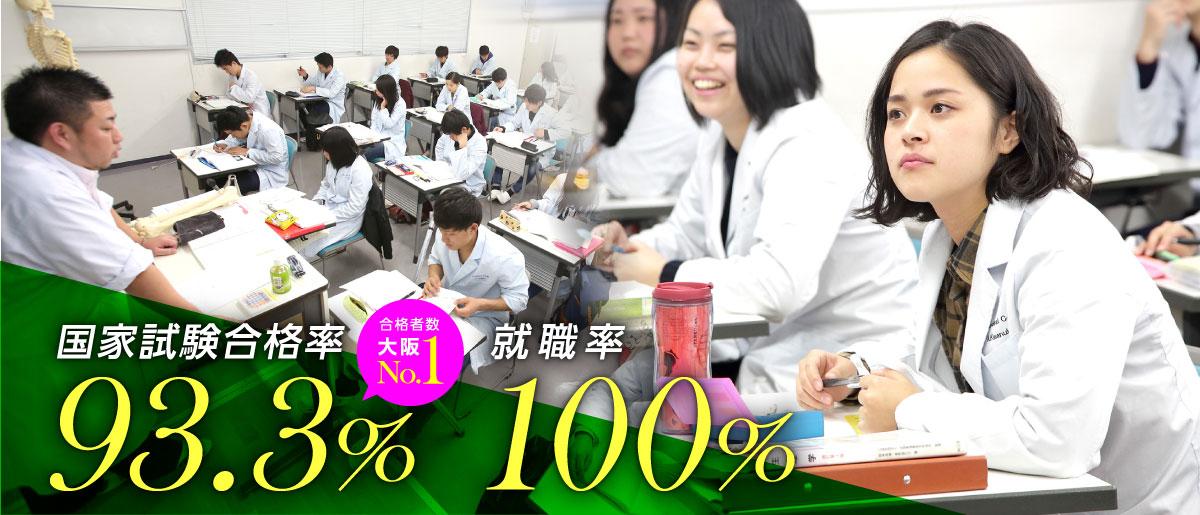 1903 柔道整復師学科 国家試験合格率 就職率