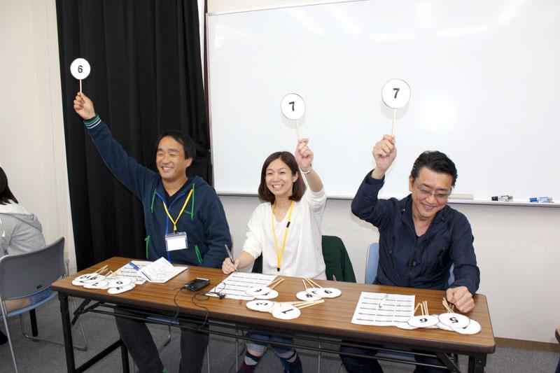 審査員の判定やいかに!? | 東洋医療専門学校(大阪)