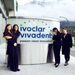 世界的に有名な歯科技工メーカ「Ivoclar Vivadent社」で研修を受けました。