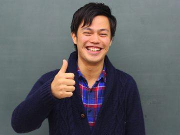 柔道整復師学科 夜間部 石田くん