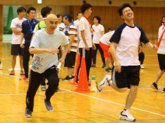 岩崎先生の猛ダッシュ!