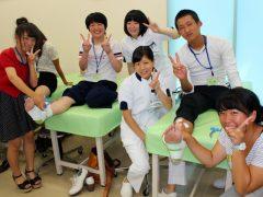 学生スタッフと楽しく職業を体験しよう!