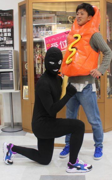 名探偵コナンの黒い犯人&ホットドッグマン