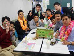 クラスに沖縄出身者が4人!メンソーレ!