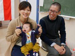 鍼灸師学科 藤田先生のご家族です!