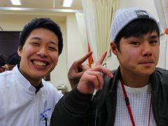 【鍼灸師学科】耳ツボ療法!!イヤージュエリープレゼント☆