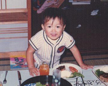 3歳の誕生日を祝われている私だ!!