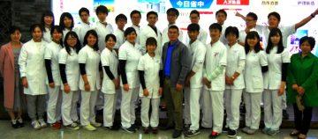 浙江中医薬大学にて熱烈歓迎を受けました!!