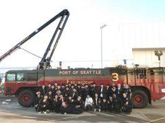 シアトル空港消防署の視察