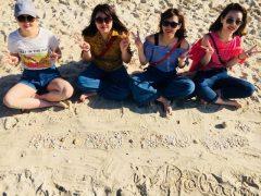 ドバイのビーチ