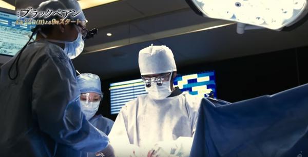 緊迫した手術室。神業です!