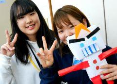 手作りのロボット!かわいい!