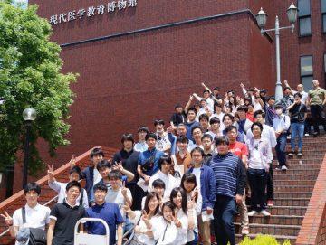 柔道整復師学科2年生全員集合!