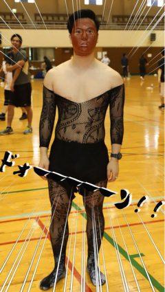 完成度は低めの女装した松崎しげる風!??