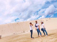 一面の、砂丘ーーーー!