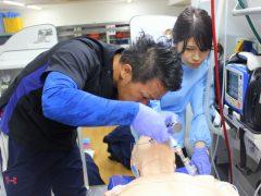 結局うまくいかず、田中先生にやっていただくことに。。。