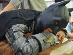 おぉ~癒される。。。※バットマンの正体はパート③でご紹介^^笑