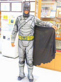 少々体が重めのバットマン。