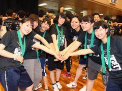女子の団結力。略して女子力!