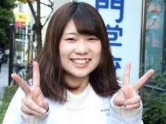 歯科技工士学科3年 上野 優花さん
