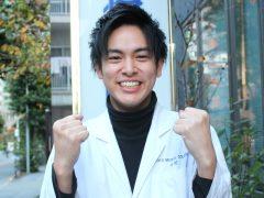 歯科技工士学科3年 田村 和輝くん