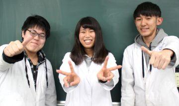 クラスメイト3人で頑張ります!!