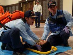 外因性(交通事故、転落・墜落、溺死 等)疾患対応