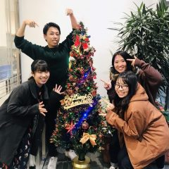 クリスマスツリー!!
