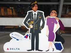 空港にて♪