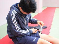 筋肉の硬さを測定!