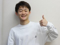 由井 啓登さん(兵庫県立 尼崎西高校 出身)