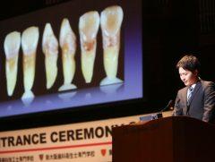 歯科技工士学科 卒業生の船木 侑さん