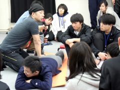 山田先生によるストレッチング講座!
