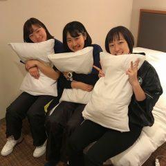 仲良し3人組♪寝る前のおしゃべりタイム