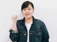 歯科技工士学科 1年生藤長さん