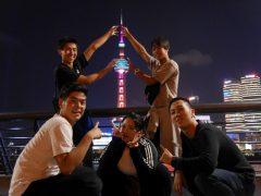 上海の夜景を堪能