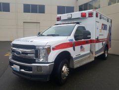 日本の救急車とは異なる外見にビックリ