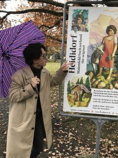 お洒落な写真!傘までオシャレ!