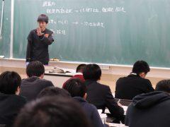 野村先生の熱と愛がこもった授業