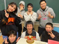 野村先生 誕生日!