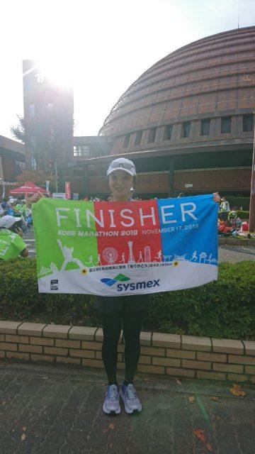 神戸マラソンを完走しました!