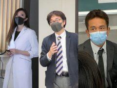左から以倉 彩翔先生、笹部 雅大先生、鈴木 啓司先生!
